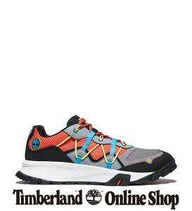 【公式】ティンバーランド timberland アウトレット メンズ ギャリソン トレイル レザー&ファブリック ロー ハイキング シューズ - オレンジ A2BND グリップ 耐久性 クッション スニーカー 厚底