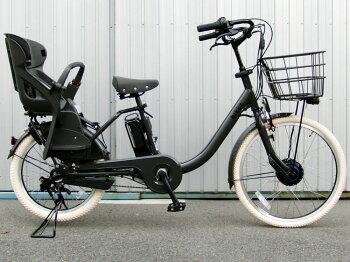 純正シートクッション付カラータイヤ仕様カスタムモデルブリヂストンビッケモブddBM0B492019年モデル電動自転車子供乗せ3人乗り自転車三人乗り24インチ/20インチbikkeMOBdd子供乗せ電動自転車前後ろ子供乗せ取付可激安価格