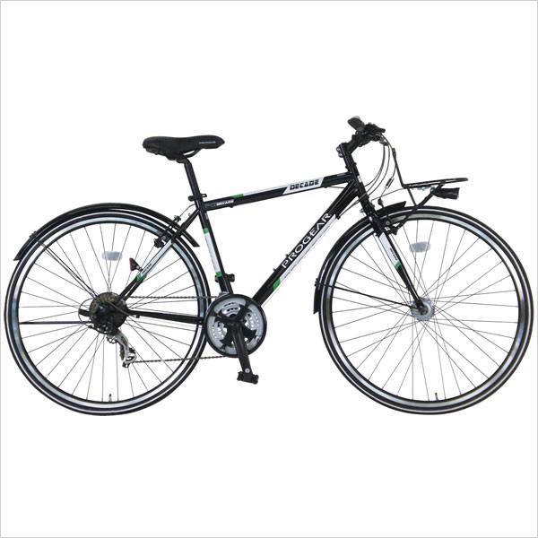 【送料無料】【選べるパーツキャンペーン】C.Dream/PROGEAR アーバンクロスバイク ディケイドクロス LEDオートライト付 700C 21段変速付 自動点灯ライト、フルドロヨケ 通勤自転車にもおすすめ シードリーム プロギア CDREAM ブランド サイクリング 自転車 クロスバイク