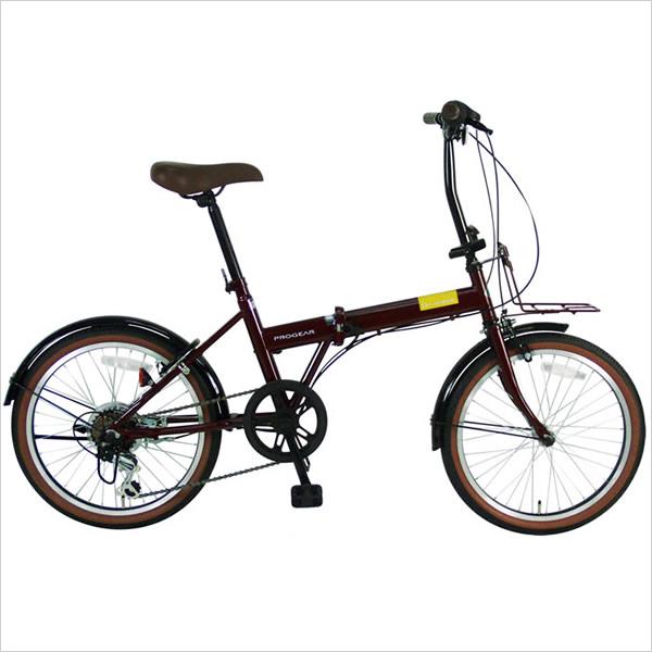 C.Dream/PROGEAR デコレーション 20インチ 外装6段変速付 充実装備とお洒落デザインで乗りやすい折り畳み自転車 激安価格 シードリーム プロギア 折りたたみ自転車 CDREAM ブランド 20型 6段ギア付 自転車
