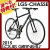 2015 ruigano LGS-CHASSE 700×28C 24段變速在的kurosubaikushasse通勤運動减肥騎自行車