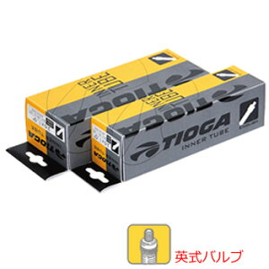 "TIOGA タイオガ Inner Tube (English Valve) インナーチューブ 英式 22""×1.3/8"" TIT08900【自転車 タイヤ 補修パーツ】 M"