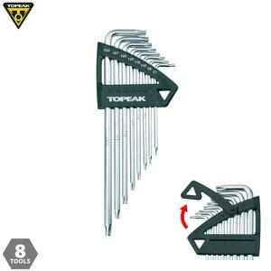 【自転車 ツール 工具】TOPEAK トピーク Torx Wrench Set トルクス レンチ セット TOL23300 M
