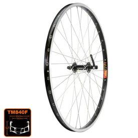 シマノ+アラヤ T610/TM840F Front Wheel フロントホイール WLF06000【自転車 MTB 完組ホイール】 M