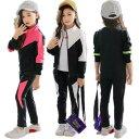 当店3点以上 送料無料韓国こども服 学生 セットアップ 子供服 2点セット スポーツウェア 長袖 トップス アウター+ ロ…