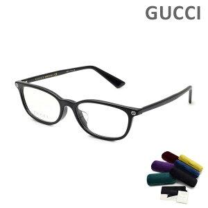 グッチ メガネ 眼鏡 フレーム のみ GG0123OJ-001 ブラック アジアンフィット メンズ レディース ユニセックス GUCCI 【送料無料(※北海道・沖縄は1,000円)】
