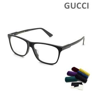 グッチ メガネ 眼鏡 フレーム のみ GG0492OA-001 ブラック アジアンフィット メンズ レディース ユニセックス GUCCI 【送料無料(※北海道・沖縄は1,000円)】