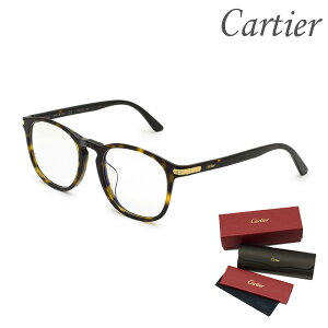 Cartier カルティエ メガネ 眼鏡 フレーム のみ CT0017OA-002 メンズ レディース ユニセックス アジアンフィット 【送料無料(※北海道・沖縄は配送不可)】