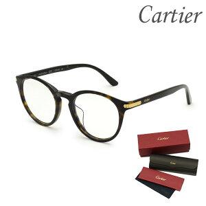 Cartier カルティエ メガネ 眼鏡 フレーム のみ CT0018OA-002 メンズ レディース ユニセックス アジアンフィット 【送料無料(※北海道・沖縄は配送不可)】