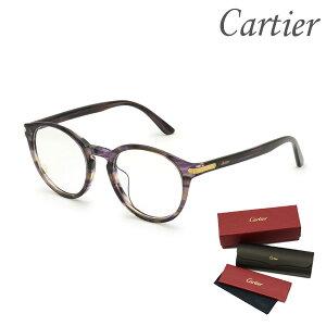 Cartier カルティエ メガネ 眼鏡 フレーム のみ CT0018OA-003 メンズ レディース ユニセックス アジアンフィット 【送料無料(※北海道・沖縄は配送不可)】