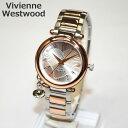 Vivienne Westwood (ヴィヴィアンウエストウッド) 腕時計 VV006RSSL ORB シルバー/ピンクゴールド 時計 レディース ヴィヴィアン タイムマシン 【送料無料(※北海道・沖