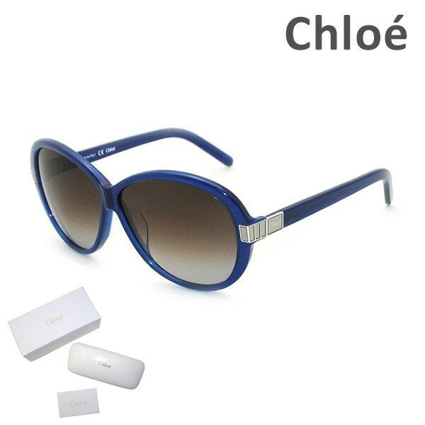 【国内正規品】 Chloe (クロエ) サングラス CE605S 424 ブルー レディース UVカット 【送料無料(※北海道・沖縄は1,000円)】