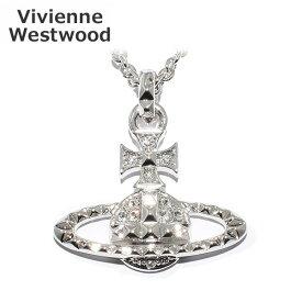 Vivienne Westwood (ヴィヴィアンウエストウッド) 63020052 W110 MAYFAIR バスレリーフ ペンダント ネックレス シルバー/クリスタル アクセサリー レディース 【送料無料(※北海道・沖縄は1,000円)】