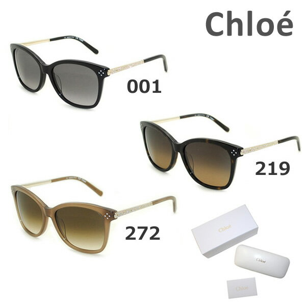 【国内正規品】 Chloe (クロエ) サングラス アジアンフィット CE657SR 001 219 272 レディース UVカット 【送料無料(※北海道・沖縄は1,000円)】