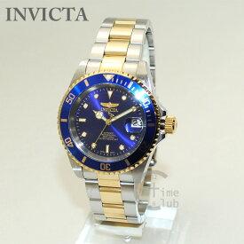 インビクタ 腕時計 INVICTA 時計 8928OB Pro Diver コンビ シルバー/ゴールド/ブルー メンズ ブレス インヴィクタ 【送料無料(※北海道・沖縄は1,000円)】
