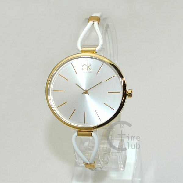 Calvin Klein CK (カルバンクライン) 時計 腕時計 K3V235L6 SELECTION ホワイト/ゴールド レディース ウォッチ クォーツ 【送料無料(※北海道・沖縄は1,000円)】