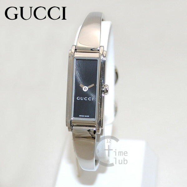 GUCCI(グッチ) 時計 腕時計 YA109522 シルバー/ブラック レディース バングル 【送料無料(※北海道・沖縄は1,000円)】