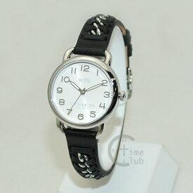 COACH (コーチ) 腕時計 14502257 Delancey デランシー シルバー/ブラック レディース 時計 ウォッチ 【送料無料(※北海道・沖縄は1,000円)】