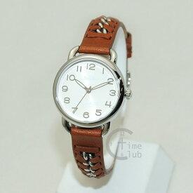 COACH (コーチ) 腕時計 14502258 Delancey デランシー シルバー/ブラウン レディース 時計 ウォッチ 【送料無料(※北海道・沖縄は1,000円)】