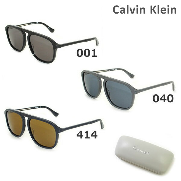 2017年モデル【国内正規品】 Calvin Klein(カルバンクライン) サングラス CK4317S 001 040 414 メンズ レディース アジアンフィット UVカット【送料無料(※北海道・沖縄は1,000円)】