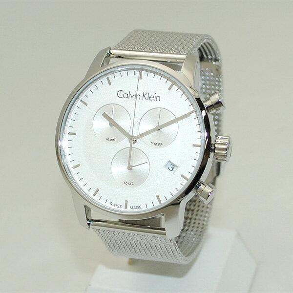 Calvin Klein CK (カルバンクライン) 時計 腕時計 K2G27126 シルバー ブレス クロノグラフ メンズ ウォッチ クォーツ 【送料無料(※北海道・沖縄は1,000円)】