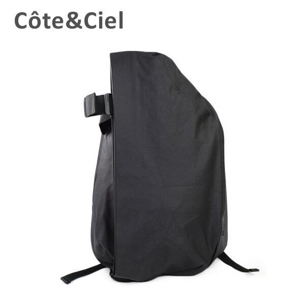 cote&ciel コートエシエル Isar Rucksack M 28331 BLACK バッグ リュック バックパック メンズ レディース コートアンドシエル 【送料無料(※北海道・沖縄は1,000円)】