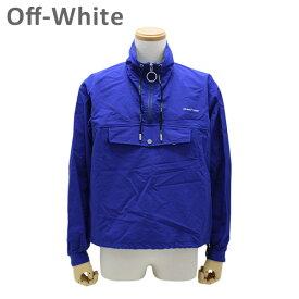オフホワイト ナイロンジャケット ブルー ANORAK OMEA166 S19 C010243010 Off-White OUTWEAR 【送料無料(※北海道・沖縄は1,000円)】