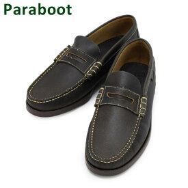 パラブーツ ローファー ブラウン 093655 Paraboot CORAUX/MARINE Noire-Vieilli Black メンズ シューズ 靴 0936-55 【送料無料(※北海道・沖縄は1,000円)】