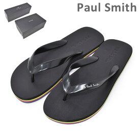 ポールスミス ビーチサンダル M2S DAL06 AEVA DALE EVA BLACK メンズ PAUL SMITH SHOE 【送料無料(※北海道・沖縄は1,000円)】