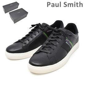 ポールスミス 靴 M2S REX01 AMLUX REX BLACK メンズ シューズ スニーカー PAUL SMITH SHOE 【送料無料(※北海道・沖縄は1,000円)】