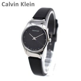 Calvin Klein CK カルバンクライン 時計 腕時計 K4D231CY CLASSIC TOO クラシック トゥー シルバー/ブラック レザー レディース ウォッチ クォーツ 【送料無料(※北海道・沖縄は1,000円)】