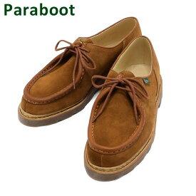 パラブーツ ミカエル スエード ブラウン 184737 1847 37 Paraboot MICHAEL/MARCHE NOIX-VEL WHISKY メンズ カジュアル シューズ 靴 【送料無料(※北海道・沖縄は1,000円)】