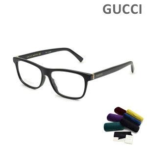 グッチ メガネ 眼鏡 フレーム のみ GG0454OA-001 ブラック アジアンフィット メンズ レディース ユニセックス GUCCI 【送料無料(※北海道・沖縄は1,000円)】