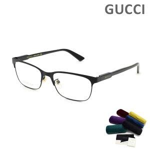 グッチ メガネ 眼鏡 フレーム のみ GG0494OJ-001 ブラック メンズ レディース ユニセックス GUCCI 【送料無料(※北海道・沖縄は1,000円)】