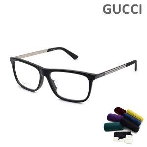 グッチ メガネ 眼鏡 フレーム のみ GG0696OA-001 ブラック アジアンフィット メンズ GUCCI 【送料無料(※北海道・沖縄は1,000円)】