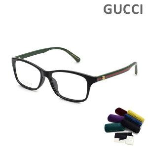 グッチ メガネ 眼鏡 フレーム のみ GG0720OA-006 54 ブラック アジアンフィット メンズ レディース ユニセックス GUCCI 【送料無料(※北海道・沖縄は1,000円)】