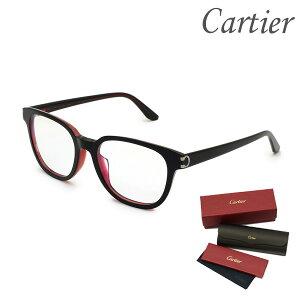 Cartier カルティエ メガネ 眼鏡 フレーム のみ CT0006OA-001 メンズ アジアンフィット 【送料無料(※北海道・沖縄は1,000円)】