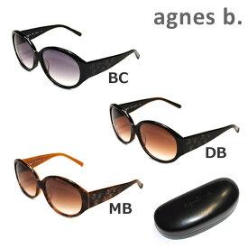 【国内正規品】 agnes b. (アニエスベー) サングラス AB-2800BC AB-2800DB AB-2800MB レディース アジアンフィット UVカット