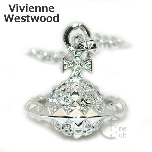 Vivienne Westwood (ヴィヴィアンウエストウッド) ペンダント ネックレス MT12626/2 シルバー オーブ アクセサリー MAYFAIR メイフェア メンズ レディース 【送料無料(※北海道・沖縄は1,000円)】