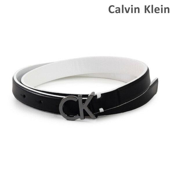 カルバンクライン ベルト Calvin Klein K60K604154 レディース レザー 001 ブラック 海外正規品 【送料無料(※北海道・沖縄は1,000円)】