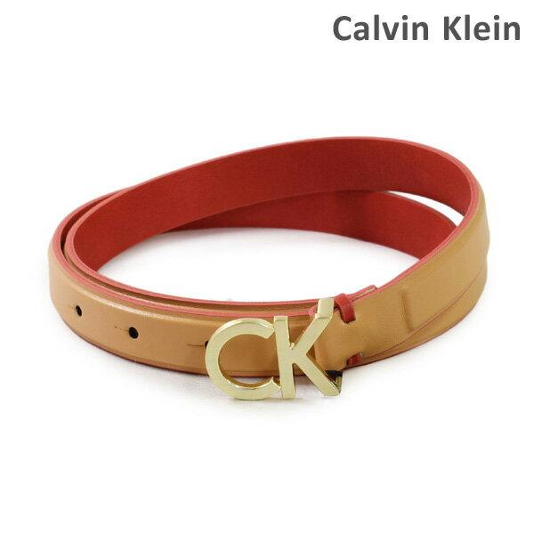 カルバンクライン ベルト Calvin Klein K60K604154 レディース レザー 230 ベージュ 海外正規品 【送料無料(※北海道・沖縄は1,000円)】