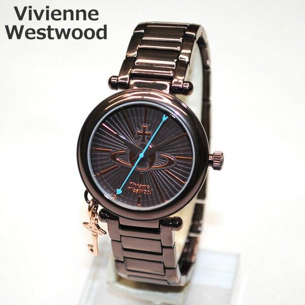 Vivienne Westwood (ヴィヴィアンウエストウッド) 腕時計 VV006KBR 時計 レディース ヴィヴィアン タイムマシン ブレス 【送料無料(※北海道・沖縄は1,000円)】【楽ギフ_包装選択】