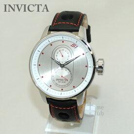 インビクタ 腕時計 INVICTA 時計 16019 S1 Rally シルバー/ブラック メンズ レザー インヴィクタ 【送料無料(※北海道・沖縄は1,000円)】