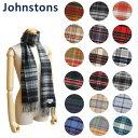 2017-18秋冬 Johnstons ジョンストンズ カシミア ストール マフラー Cashmere Tartans WA000016 タータンチェック カシ...
