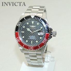 インビクタ 腕時計 INVICTA 時計 15585 Pro Diver プロダイバー シルバー/ブラック/レッド ブレス メンズ インヴィクタ 【送料無料(※北海道・沖縄は1,000円)】