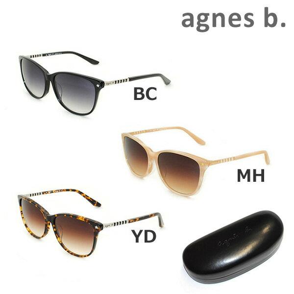 【国内正規品】 agnes b. (アニエスベー) サングラス AB-2827 BC MH YD レディース アジアンフィット UVカット [16N]