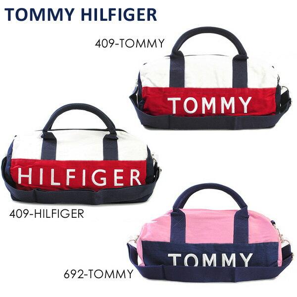 トミーヒルフィガー バッグ TOMMY HILFIGER ボストンバッグ ミニ 6922644 ネイビー 青 409 RD WT レッド ホワイト 赤 白 692 ピンク キャンバス ショルダーバッグ メンズ レディース ロゴ
