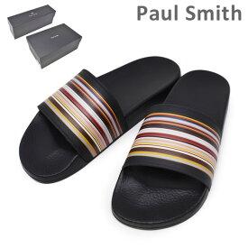 ポールスミス サンダル M1S RUB01 ATPU RUBEN MULTISTRIPE BLACK メンズ PAUL SMITH SHOE 【送料無料(※北海道・沖縄は1,000円)】