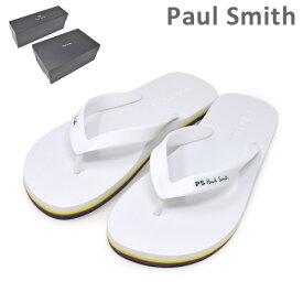 ポールスミス ビーチサンダル M2S DAL07 AEVA DALE EVA WHITE メンズ PAUL SMITH SHOE 【送料無料(※北海道・沖縄は1,000円)】