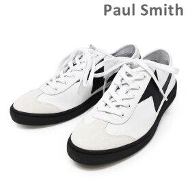 ポールスミス 靴 M2S ZIG02 ASET ZIGGY WHITE BLACK LIGHTNING メンズ シューズ スニーカー PAUL SMITH SHOE 【送料無料(※北海道・沖縄は1,000円)】